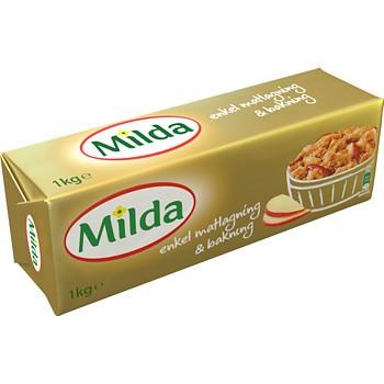vad innehåller milda margarin